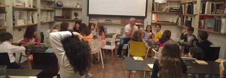Primul curs cu copiii!